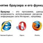 Принципы работы браузера