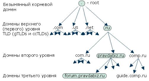 универсальный указатель ресурса в сети интернет имеет вид именем домена верхнего уровня является